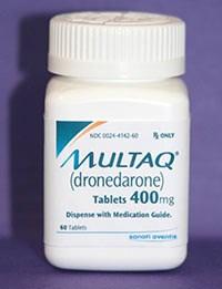 Multaq treats heart rhythm disorder