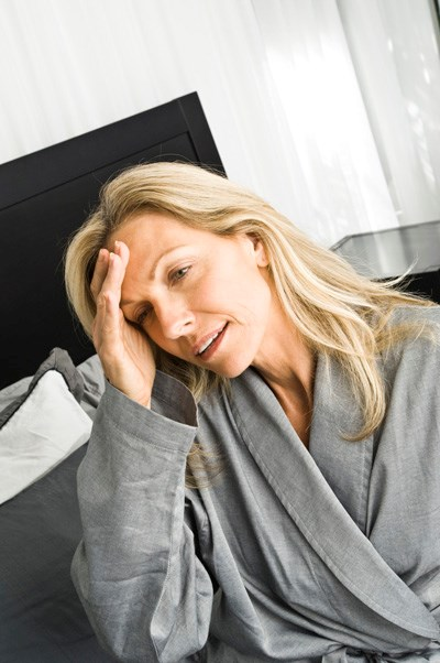 Memory lapse and sleep disturbance in a depressed alcoholic