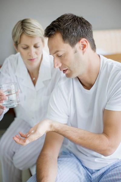 An antipsychotic's side effects derail a patient's symptom management