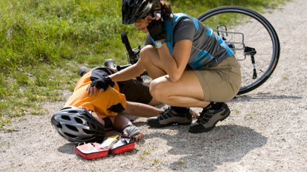 More than 500,000 people visit the emergency room annually as a result of bicycle-related injuries,