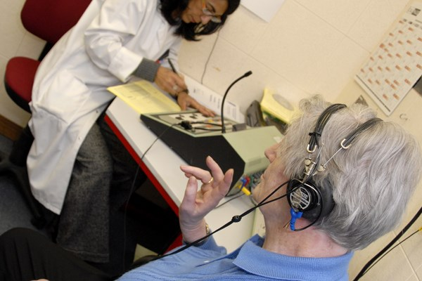 frequency hearing loss — is  common among older patients.