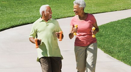 Walking speed may predict cognitive impairment
