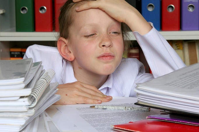 Migraines associated with poor school performance