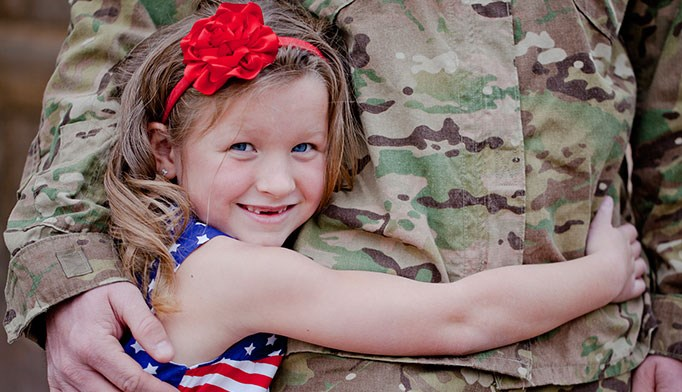 Pediatricians can help children cope with parental military deployment