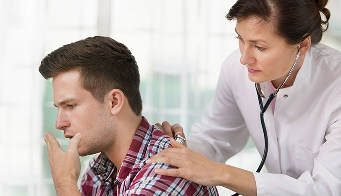 An unproductive cough leads to a life-threatening diagnosis