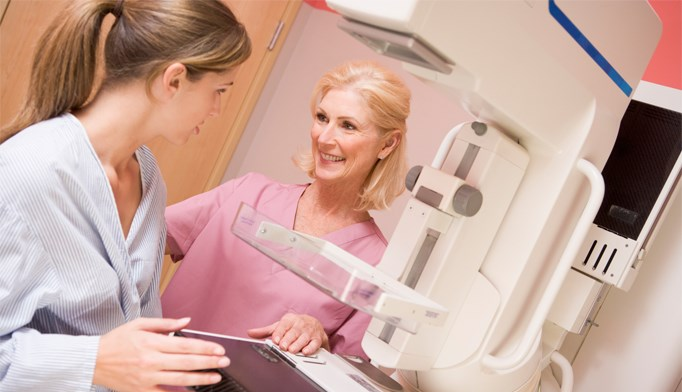 Mammogram screenings decrease chemo odds