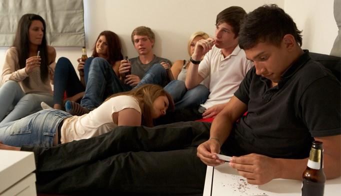 Teenage drug use on the decline