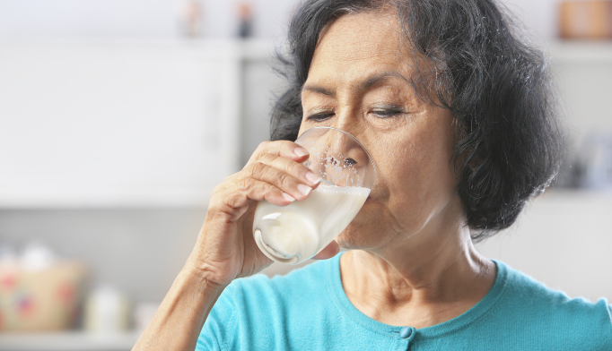 High milk intake associated with increased mortality risk