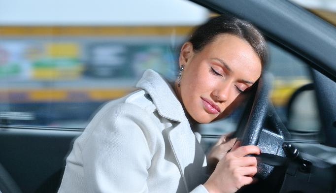 Be careful of sleepy drivers