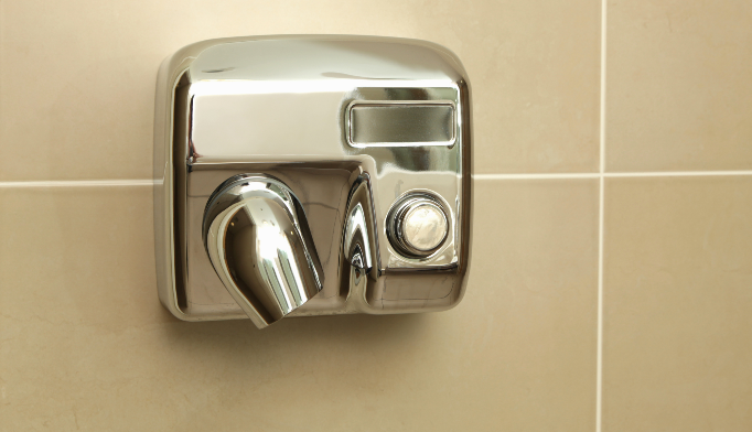 Hand dryers may be unsuitable in health-care settings