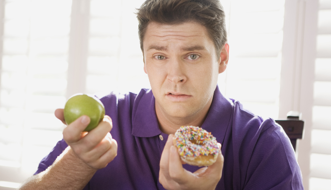 Patients can't exercise away bad diet
