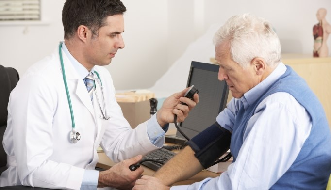 Treating hypertension in patients with coronary heart disease