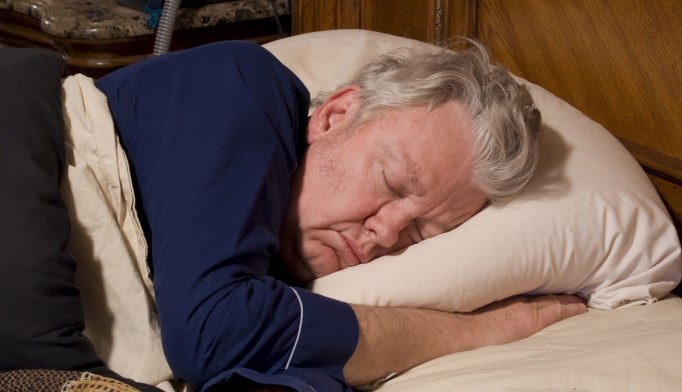 The quality of sleep can decrease as people age.