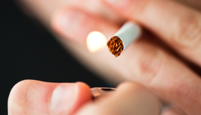 Just under 3,000 deaths from cancer of the larynx were tied to smoking