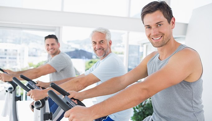 The link between exercise and heart failure in men is U-shaped.