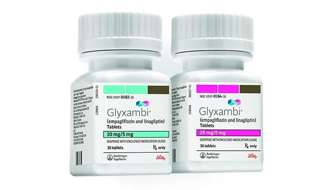 Combination drug for adults with type 2 diabetes mellitus