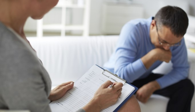 Psychotherapy may be less effective for treating depression than previously thought.