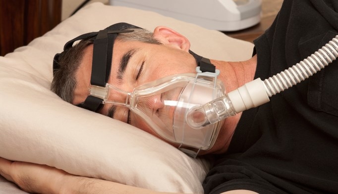 Atrial fibrillation linked to central sleep apena, disordered sleep breathing in older men