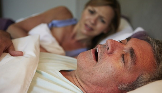 A patient believed he was saying explicit, sexual things in his sleep because of his partner.
