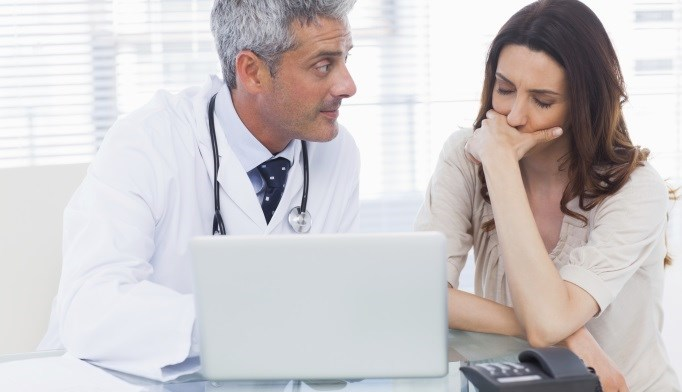 Clinicians who use the computer more may be lowering patient satisfaction.