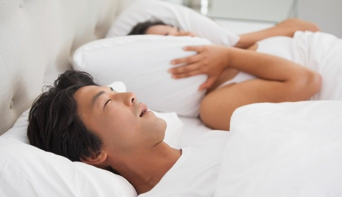 Patients with obstructive sleep apnea are often identified by their spouses.