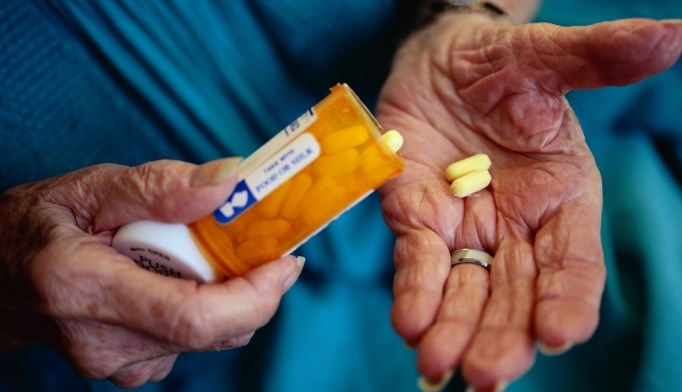 More elderly patients are regularly taking potentially lethal combinations of drugs.
