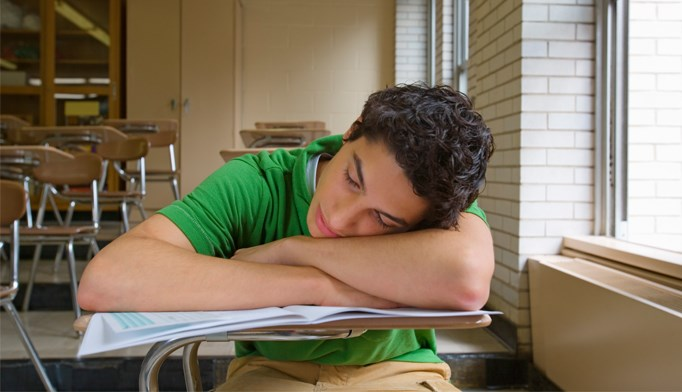 Teens who have insufficient sleep are more likely to engage in risky behavior, including drunk driving.