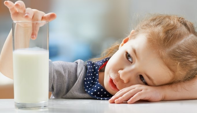 Children with milk allergy have lower calcium, bone mineral density levels