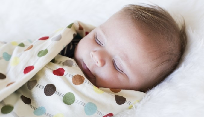 Infants who are swaddled while they sleep have an increased risk of SIDS.