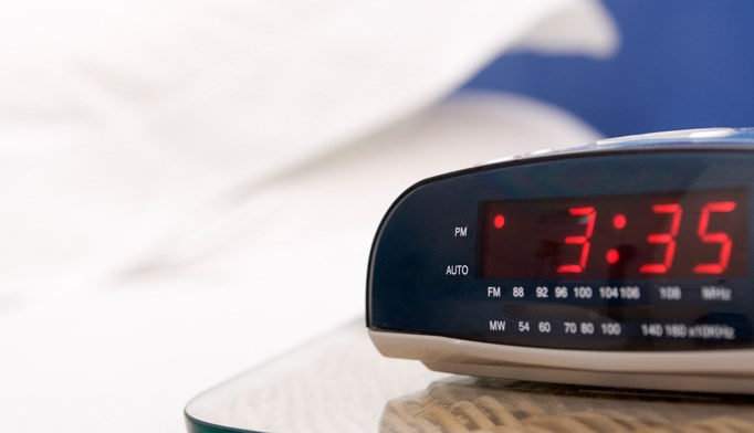 An alarm clock can help patients remember to take their medication