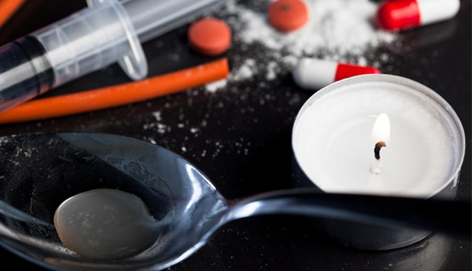 In a study, 24% of confiscated drug snorting straws tested positive for human blood.