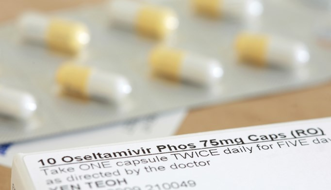 Oseltamivir phosphate can be used to prevent flu in patients aged 1 year and older.