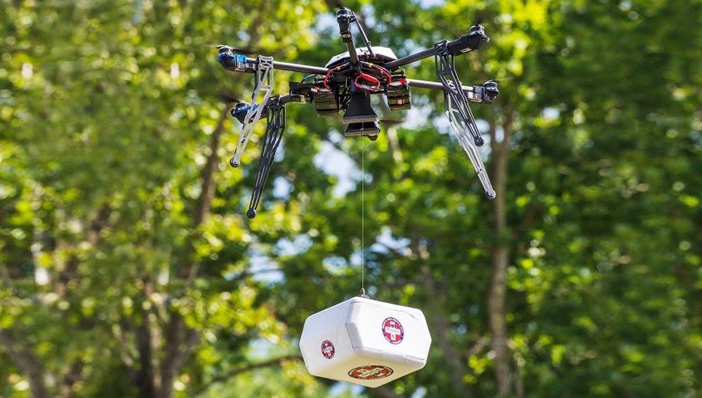 Nurse practitioners make history with the first FAA-approved drone delivery of medications in the United States.