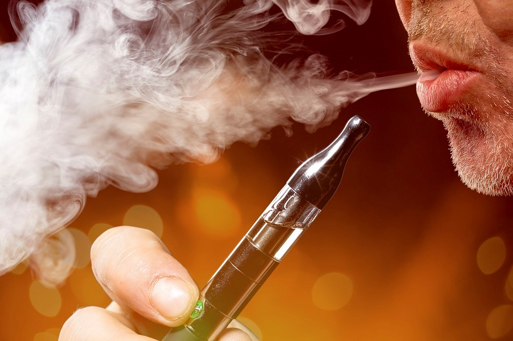 Electronic cigarettes cause an imbalance of cardiac autonomic tone and increased oxidative stress, which may increase cardiovascular risk.