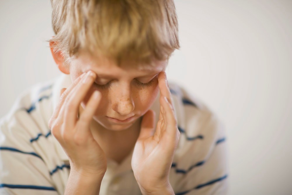 About 46% of pediatric ischemic stroke patients over 3 years of age said they had a headache beforehand.