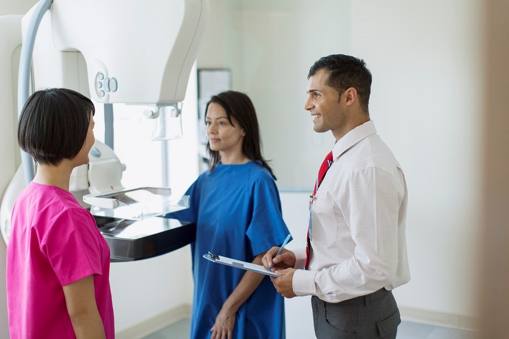 Women should start mammogram screening at age 40 and continue screening annually.