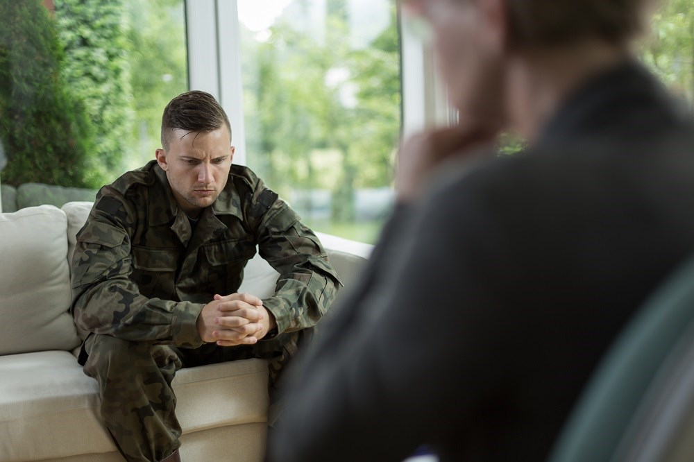 Data indicate that a mental health or behavioral disorder has been diagnosed in more than 41% of veterans currently living in the United States.