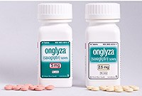 Onglyza is a selective, reversible inhibitor of the DPP-4 enzyme