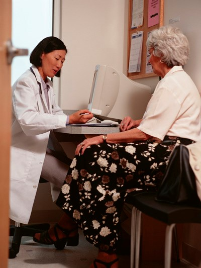 Establish a healthy working relationship by making the patient the focus of attention.