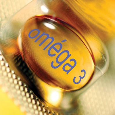 Omega-3 fatty acids are found in teh cell membrane and participate in many biochemical reactions.