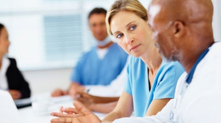 Incorporating the peer-review process in primary-care settings