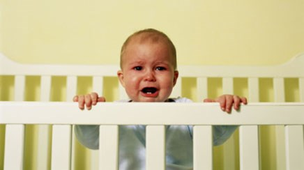 About one-fifth of babies have colic, which typically starts when a baby is two to four weeks old.