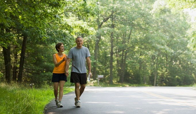 Short post-meal walks help seniors curb glucose spikes