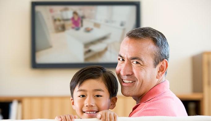 Children adopt parents' TV habits