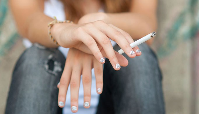 Teen tobacco use still common
