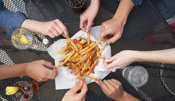 Genetics may influence weight gain from fried food