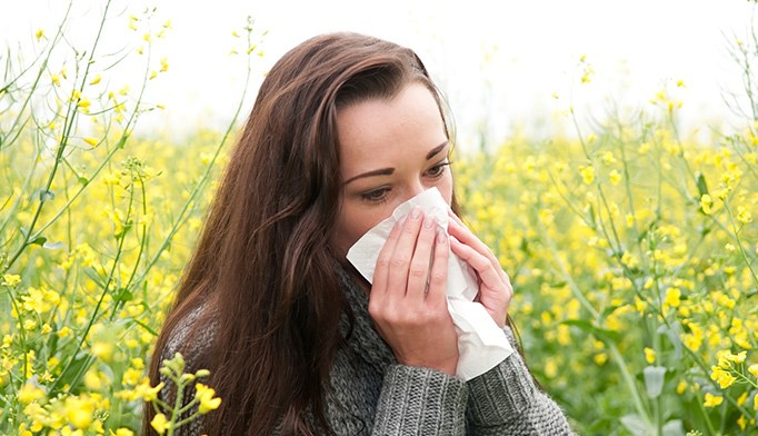 Stress may contribute to allergy flares