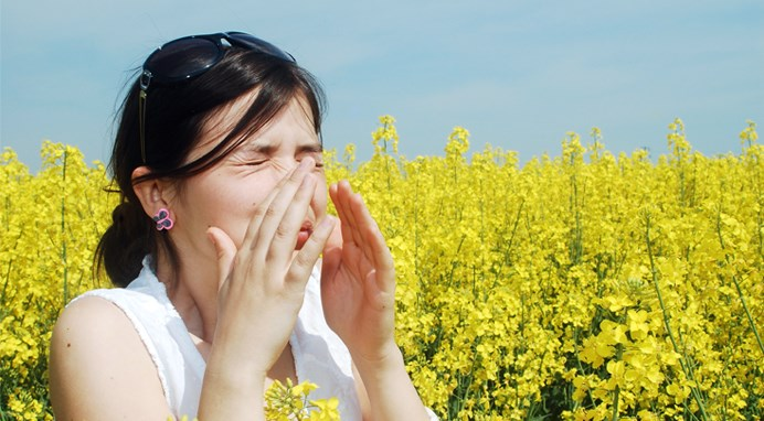 Overlapping allergy seasons cause 'pollen vortex'