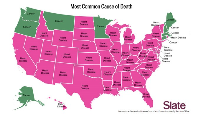 What's your state's disproportionate cause of death?