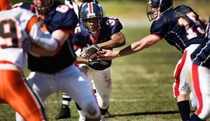 Impact location does not affect concussion outcome in football accidents